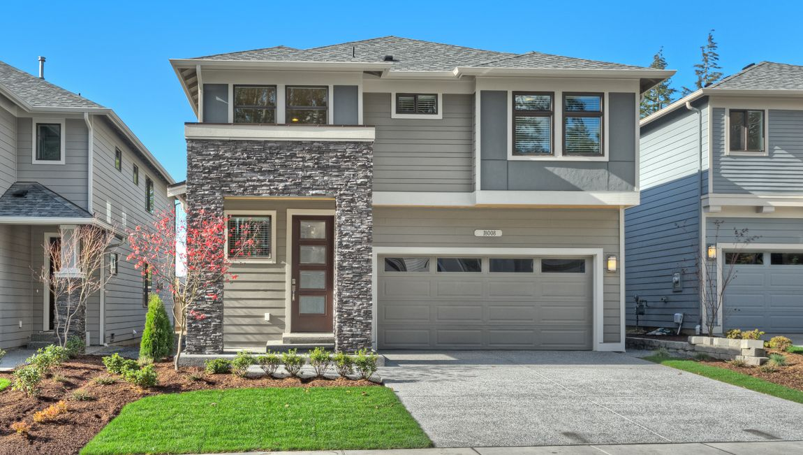 Single Family for Sale at Silver Peak Estates - Cavanaugh 18423 15th Ave W Lynnwood, Washington 98037 United States