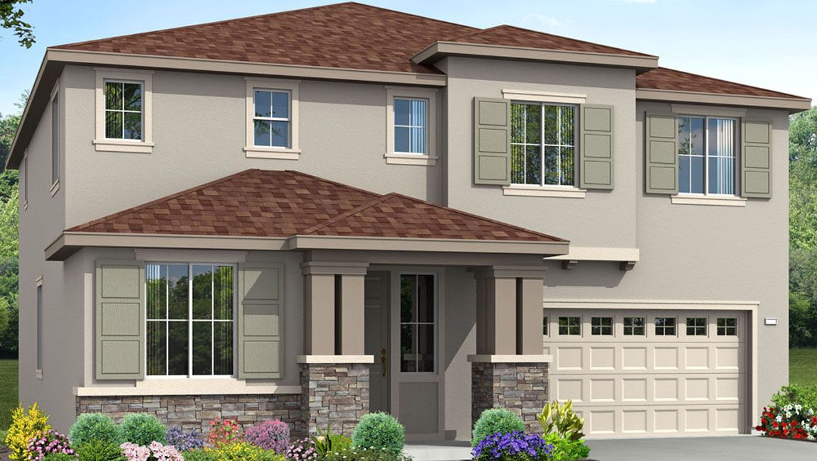 Single Family for Sale at Vista Terraza - Residence Five 2022 Iacovetti Avenue Tulare, California 93274 United States