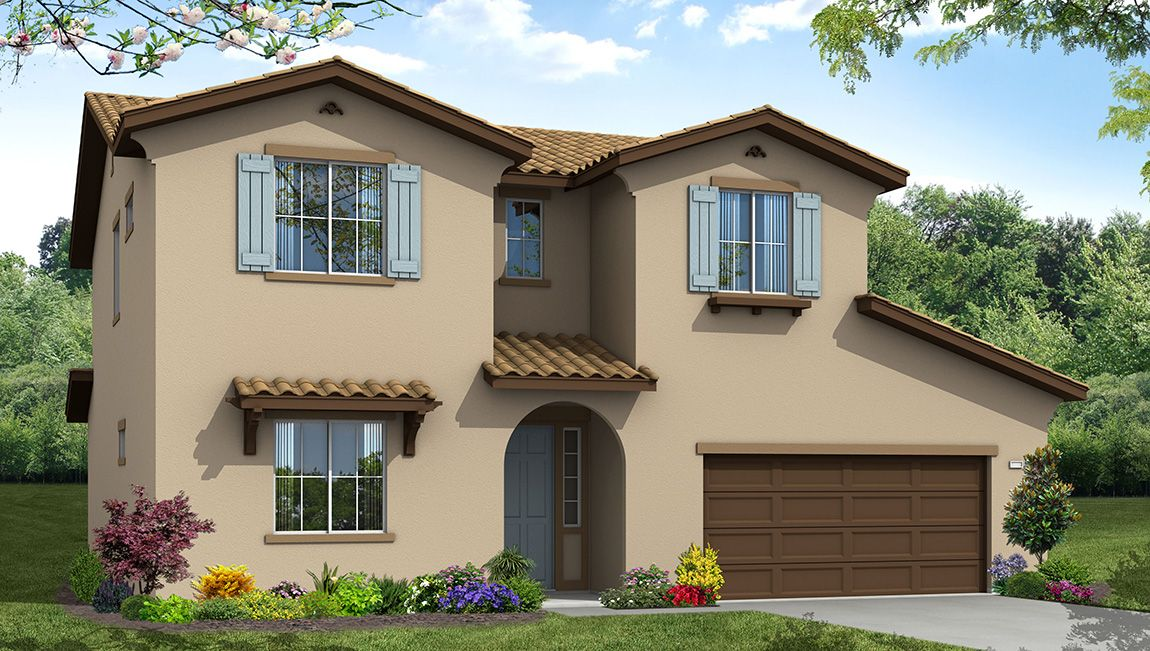 Single Family for Sale at The Manors Ii - Residence 4 15410 Via Bassano Bakersfield, California 93306 United States
