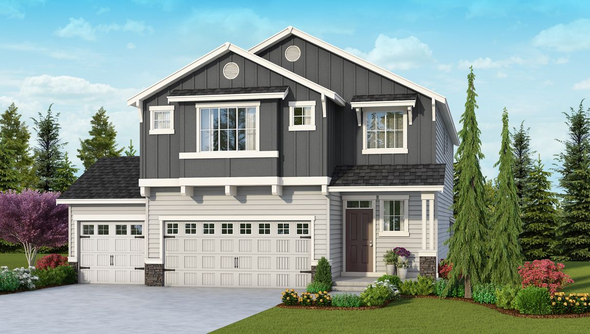 Single Family for Sale at The Preserve At East Hill - Bridgeport 3733 25000 114th Ave Se Kent, Washington 98030 United States
