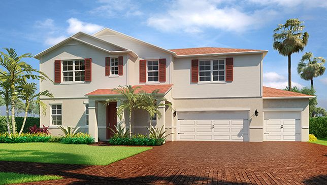 Single Family for Sale at Bancourt 11991 Cypress Key Way Royal Palm Beach, Florida 33411 United States