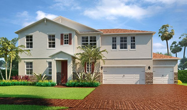 Single Family for Sale at Bancourt 11981 Cypress Key Way Royal Palm Beach, Florida 33411 United States