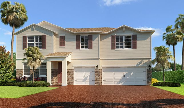 Single Family for Sale at Dancourt 12001 Cypress Key Way Royal Palm Beach, Florida 33411 United States