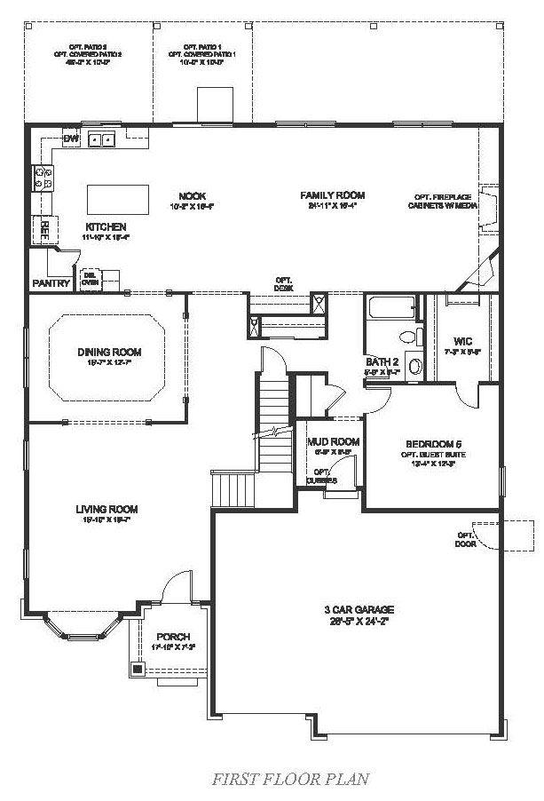 D r horton hilltop pines keystone 1207357 parker co for Dr horton home share floor plans