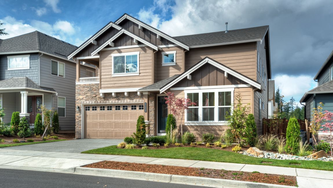 Rainier ridge new homes in puyallup wa by d r horton for Home builders in puyallup wa