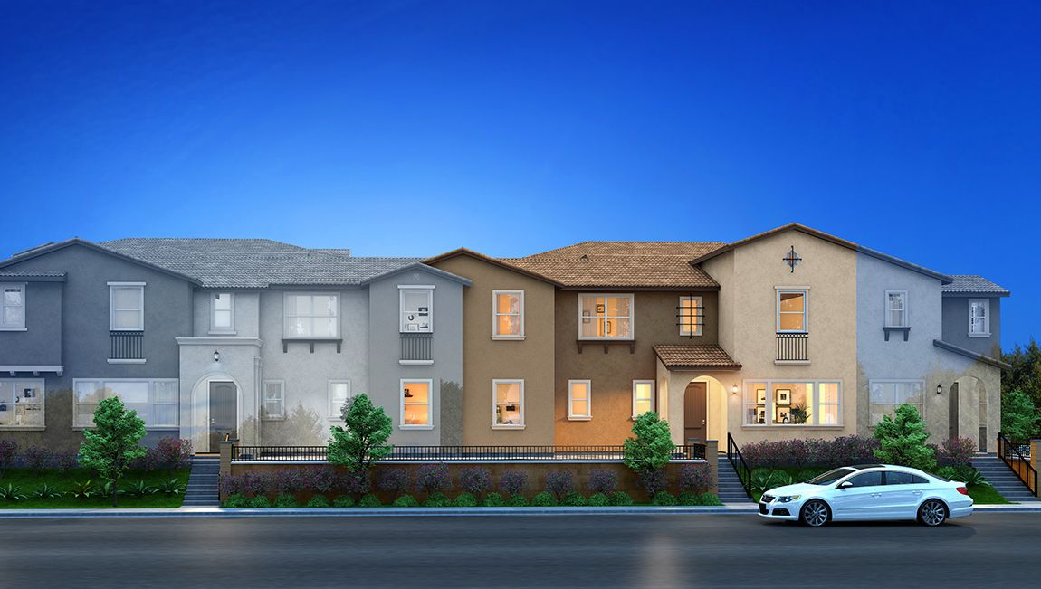 Multifamiliar por un Venta en Opal At Midwick Collection - Residence 1822 2228 Tracy Place Alhambra, California 91803 United States
