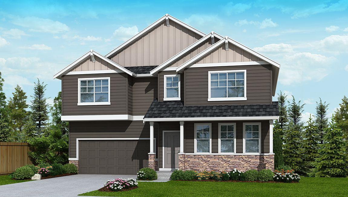 Single Family for Sale at Cedar Ridge - Chandler B237 10602 Nw Glenmore Way Portland, Oregon 97229 United States