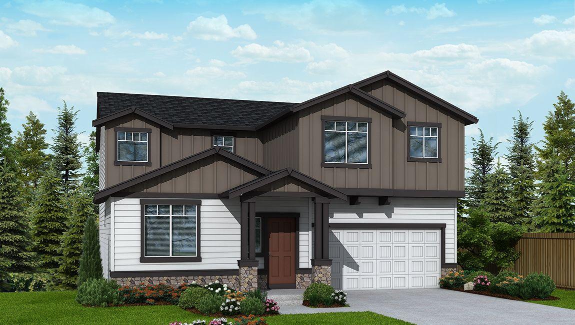 Single Family for Sale at Cedar Ridge - Cascade B725 10602 Nw Glenmore Way Portland, Oregon 97229 United States