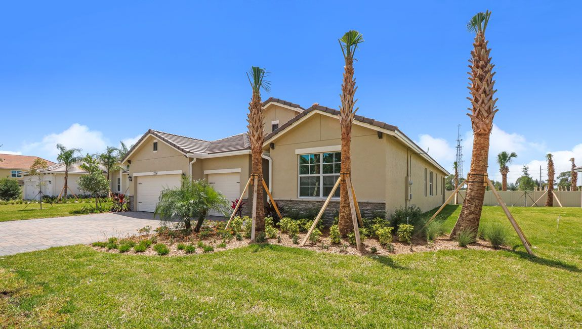 Single Family for Active at Tidewater Pointe - Camden 7400 Sw Harbor Cove Drive Stuart, Florida 34997 United States