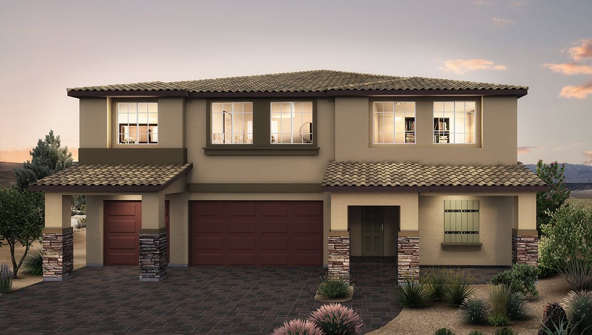 Single Family for Active at Polaris Pointe - 4425 Plan 4140 Akira Avenue North Las Vegas, Nevada 89084 United States