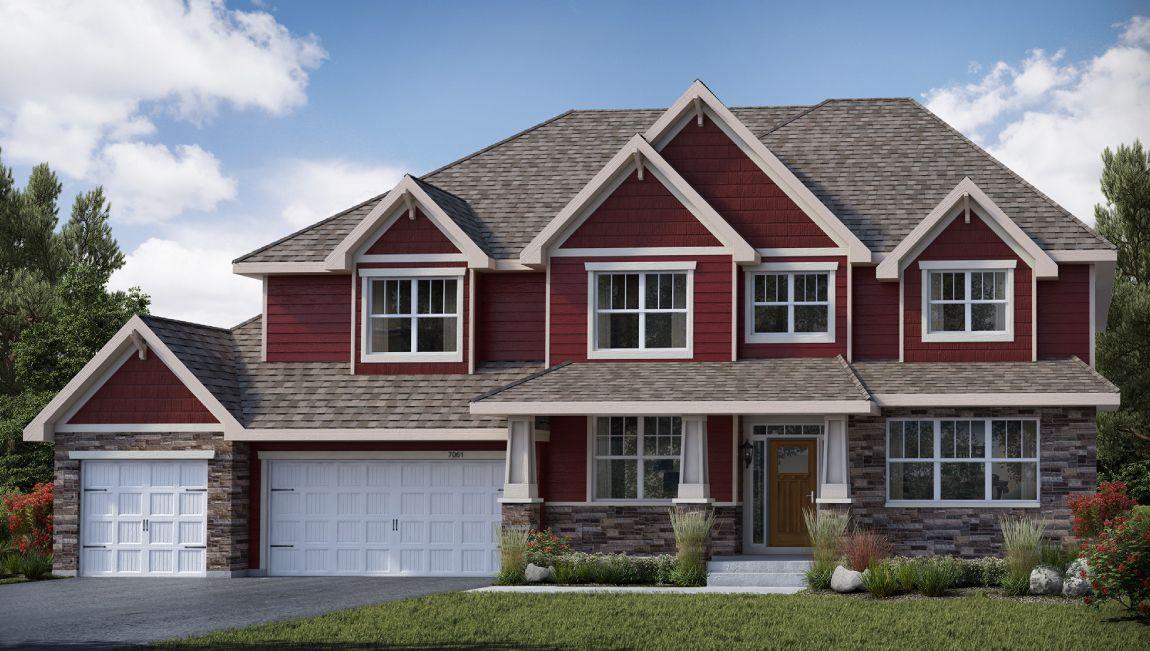 单亲家庭 为 销售 在 The Ridge - The Bluewater 1314 Interlachen Drive Eagan, Minnesota 55123 United States