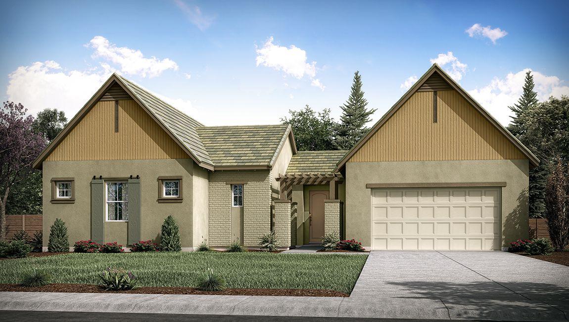 Single Family for Active at Sterling Oaks - Langley 3656 W. Lark Ave Visalia, California 93291 United States