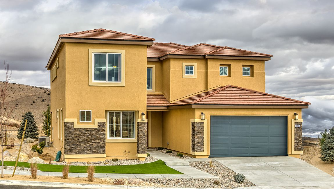 Single Family for Active at 3790 Plan 1905 Painted Sky Way Sun Valley, Nevada 89433 United States