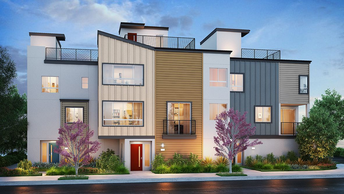 Single Family for Active at 22 @ Portside - Residence 1942 1841 S Mesa Street San Pedro, California 90731 United States