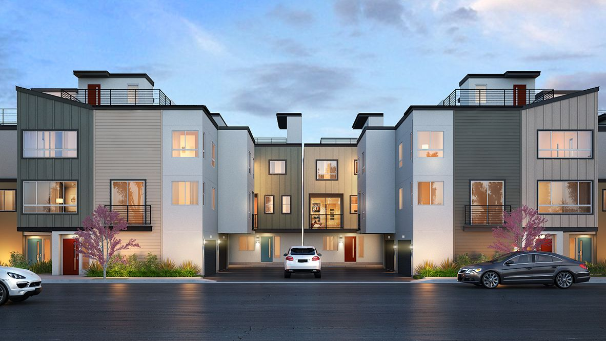 Single Family for Active at 22 @ Portside - Residence 1781 1841 S Mesa Street San Pedro, California 90731 United States