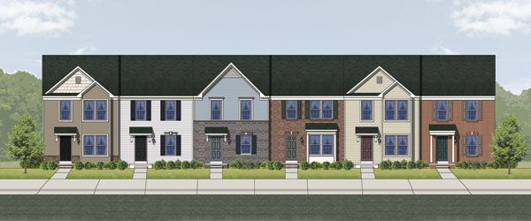 Multi Family for Sale at Canterbury Woods - Townhomes - York Ii Grade 302 Kingsbury Court Fairmont, West Virginia 26554 United States