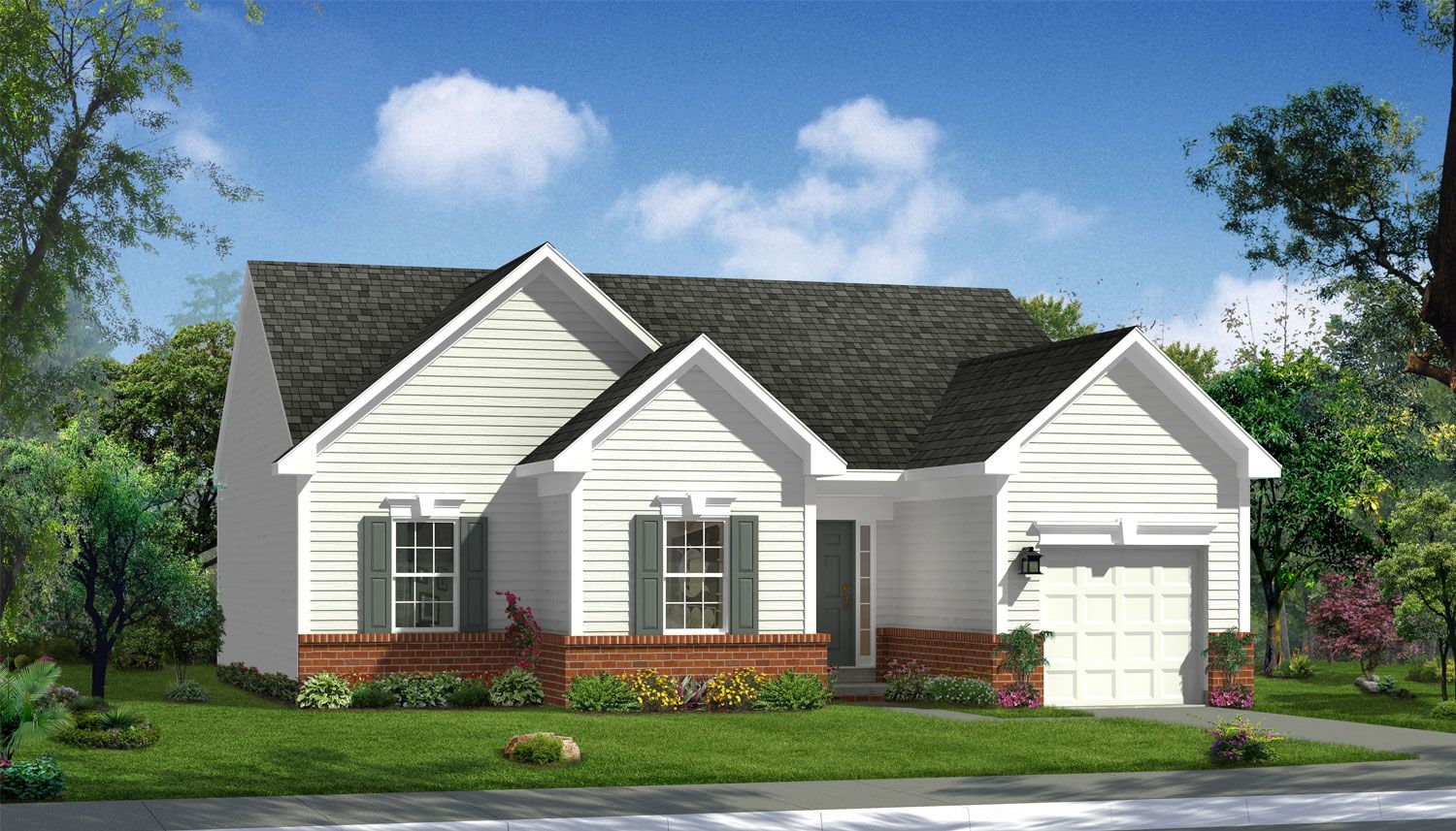 Single Family for Sale at Canterbury Woods - Wyatt Ii 200 Woodbury Dr Fairmont, West Virginia 26554 United States