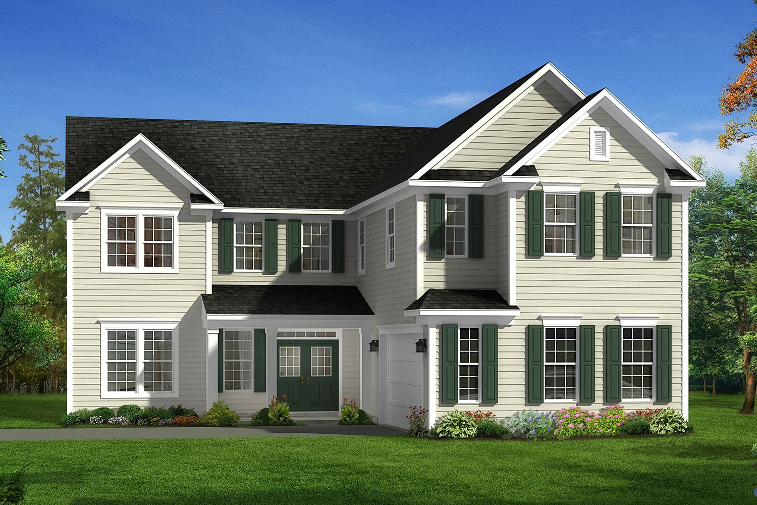 River dell east at flowers plantation new homes in clayton for Home builders in eastern nc
