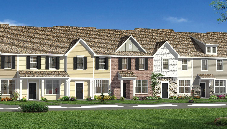 Crosstowne new homes in raleigh nc by dan ryan builders for Modern homes raleigh durham