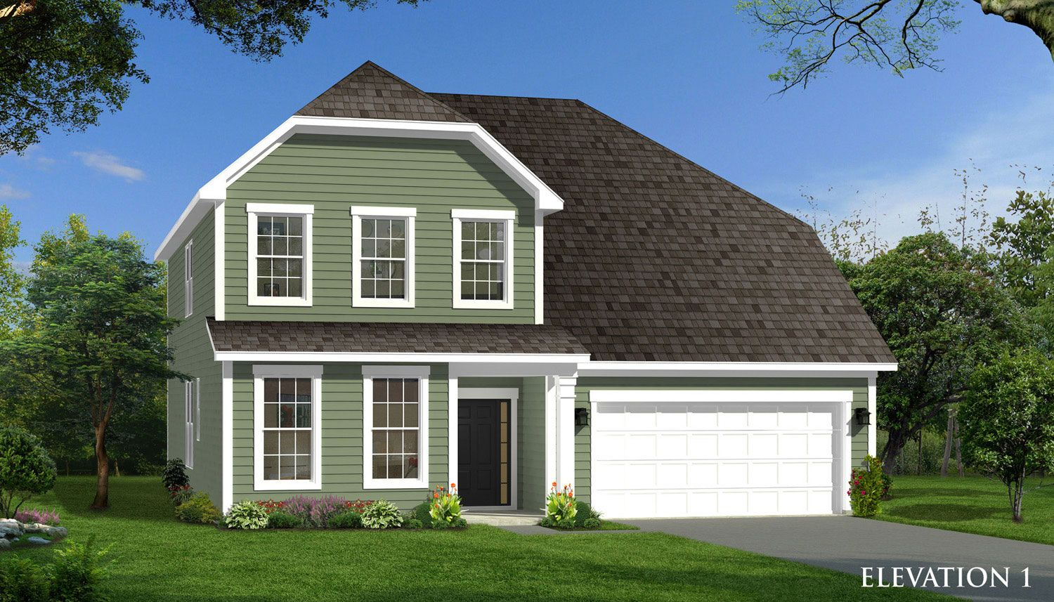 Drayton olde liberty manors in youngsville for Liberty home builders