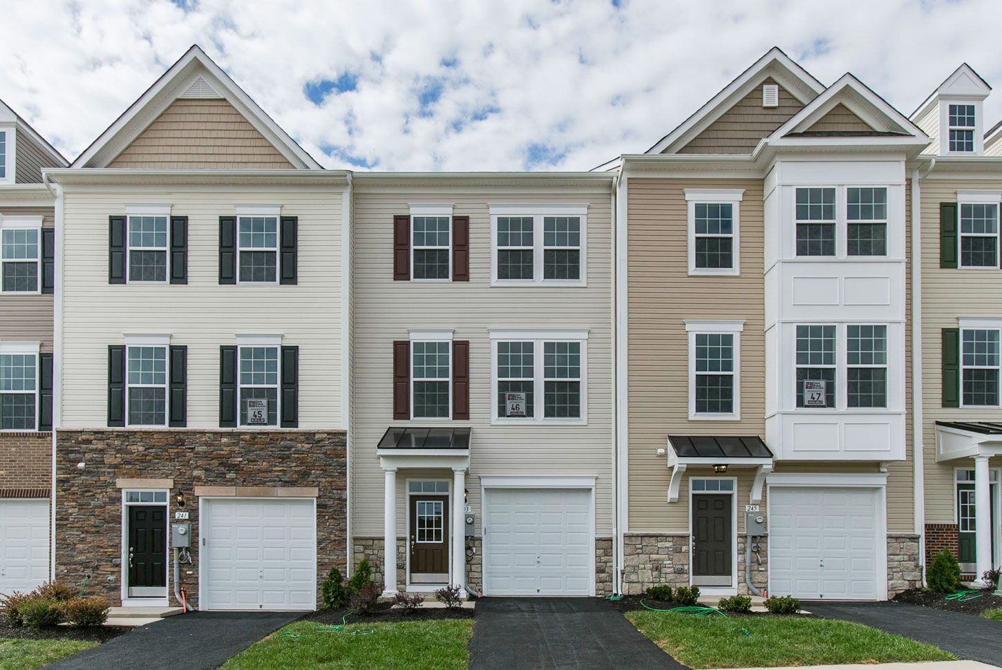 Single Family for Sale at The Townes At Tasker - Yorktown Ii 253 Schramm Loop Stephens City, Virginia 22655 United States