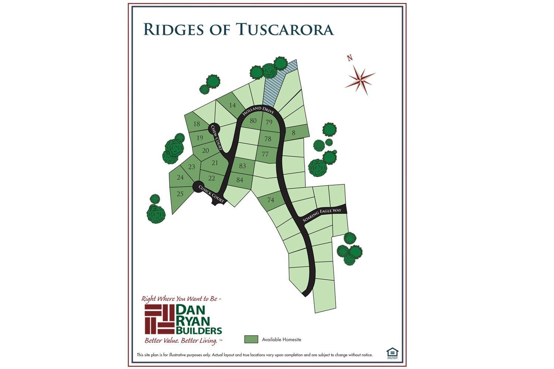 Ridges of Tuscarora new homes in Martinsburg WV by Dan Ryan Builders