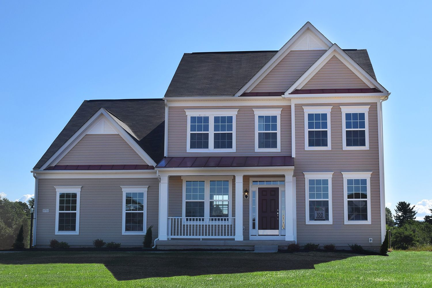 Mccauley crossing new homes in bunker hill wv by dan ryan for Wv home builders