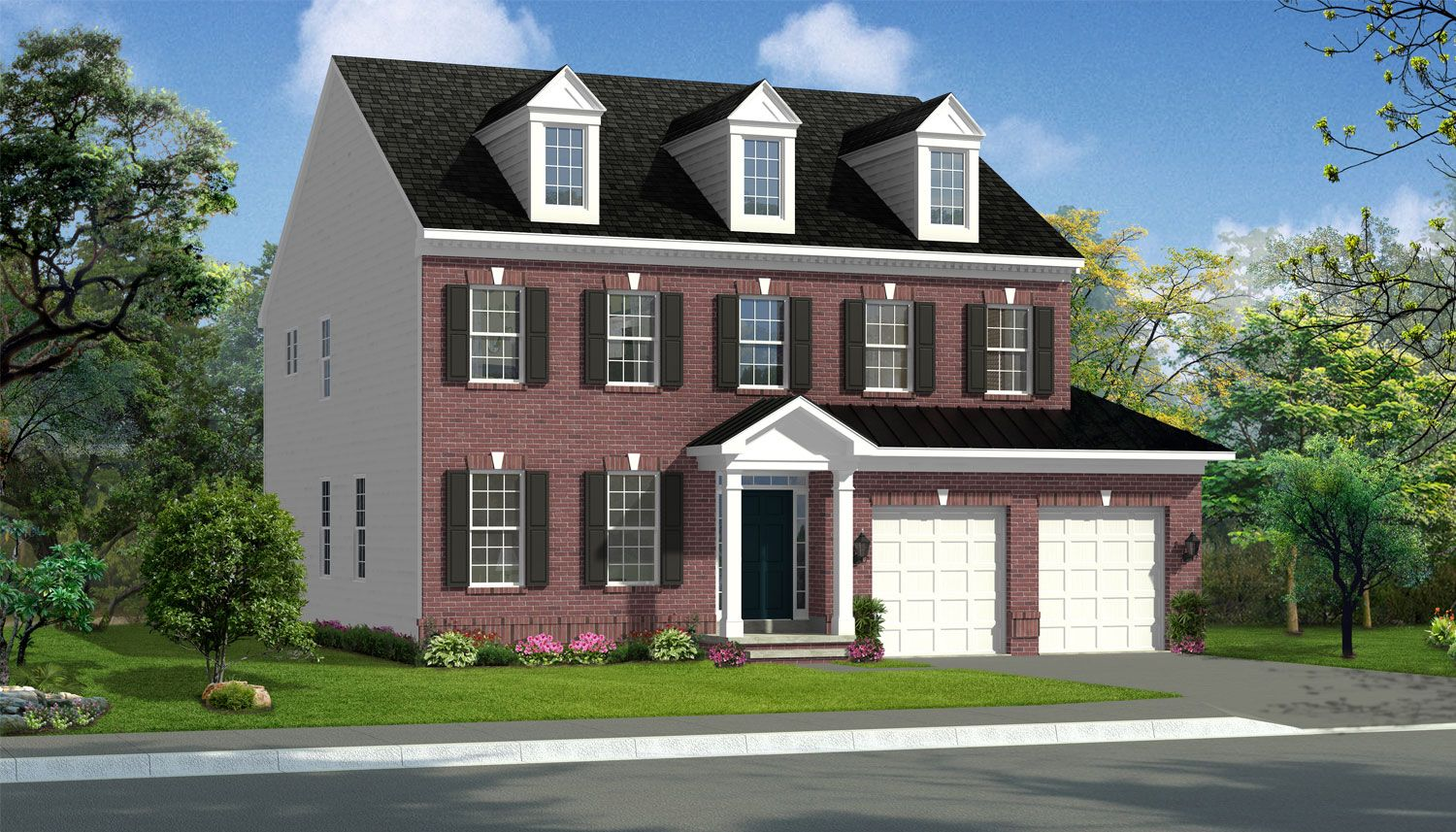 Unifamiliar por un Venta en Glenn Dale Crossing Single Family Homes - Belmont Ii 7771 Hubble Drive Lanham, Maryland 20706 United States