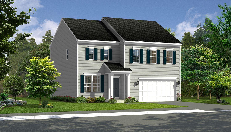 The Village Of Washington Trail New Homes In Kearneysville