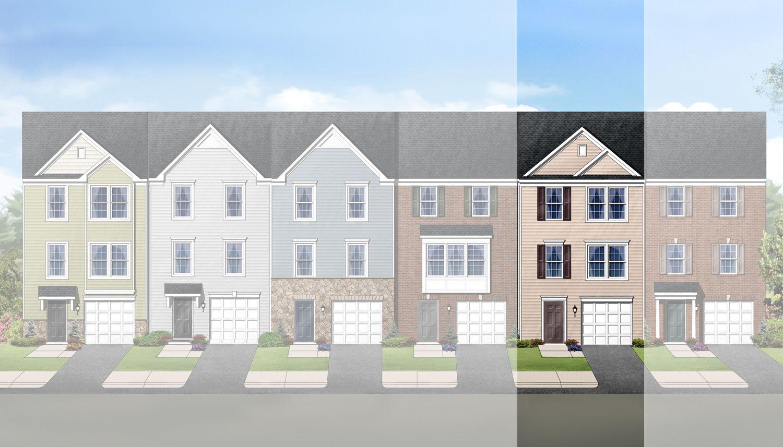 kensington terrace new homes in martinsburg wv by dan ryan