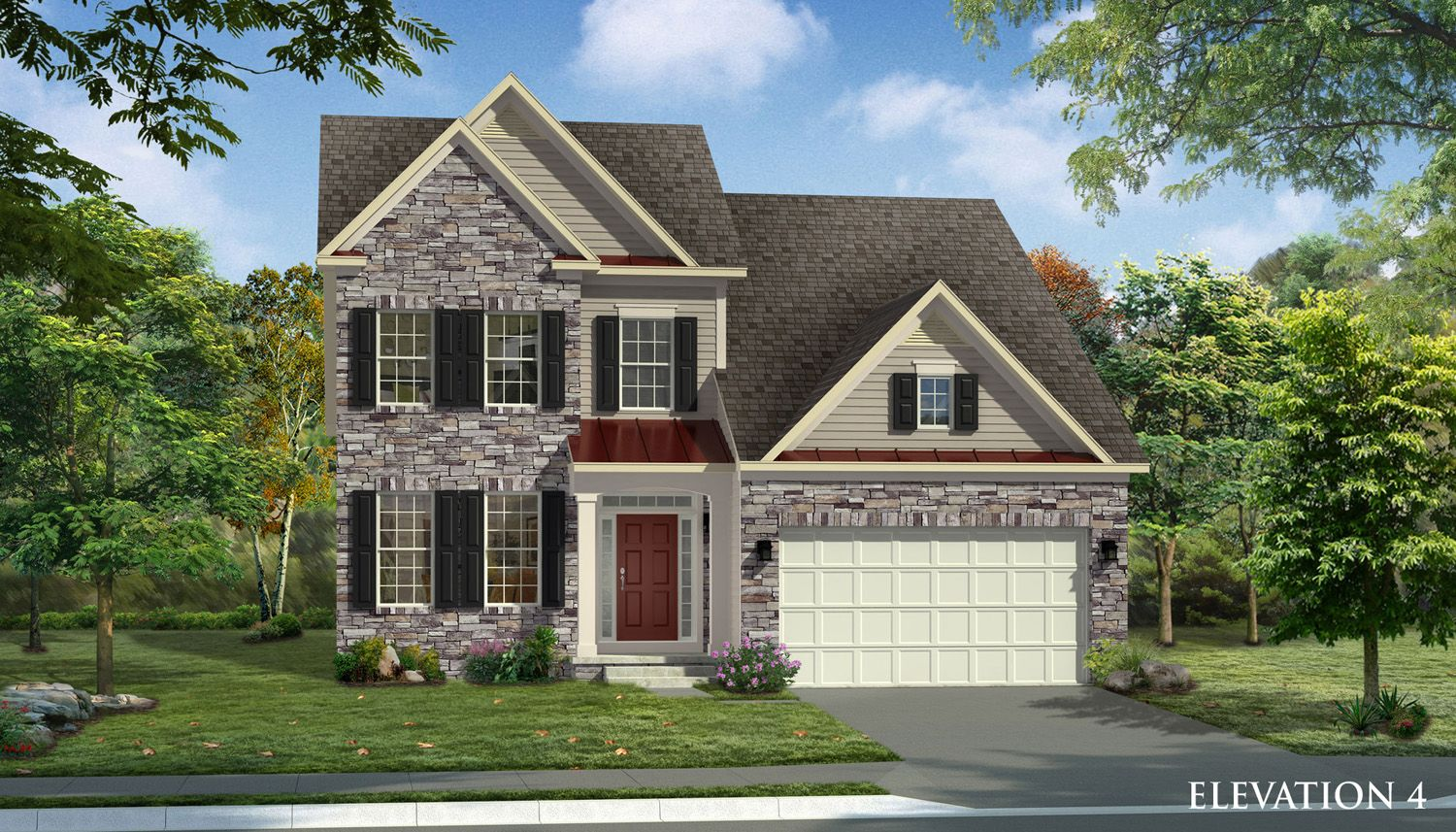 Unifamiliar por un Venta en Glenn Dale Crossing Single Family Homes - Gregory Ii 7771 Hubble Drive Lanham, Maryland 20706 United States
