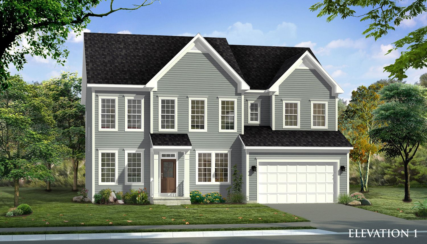 Unifamiliar por un Venta en Glenn Dale Crossing Single Family Homes - Emory Ii 7771 Hubble Drive Lanham, Maryland 20706 United States