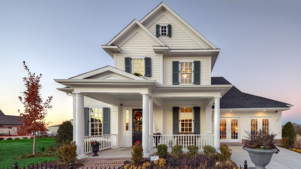 Darling homes tucker hill heritage collection 1809 for Mckinney builders