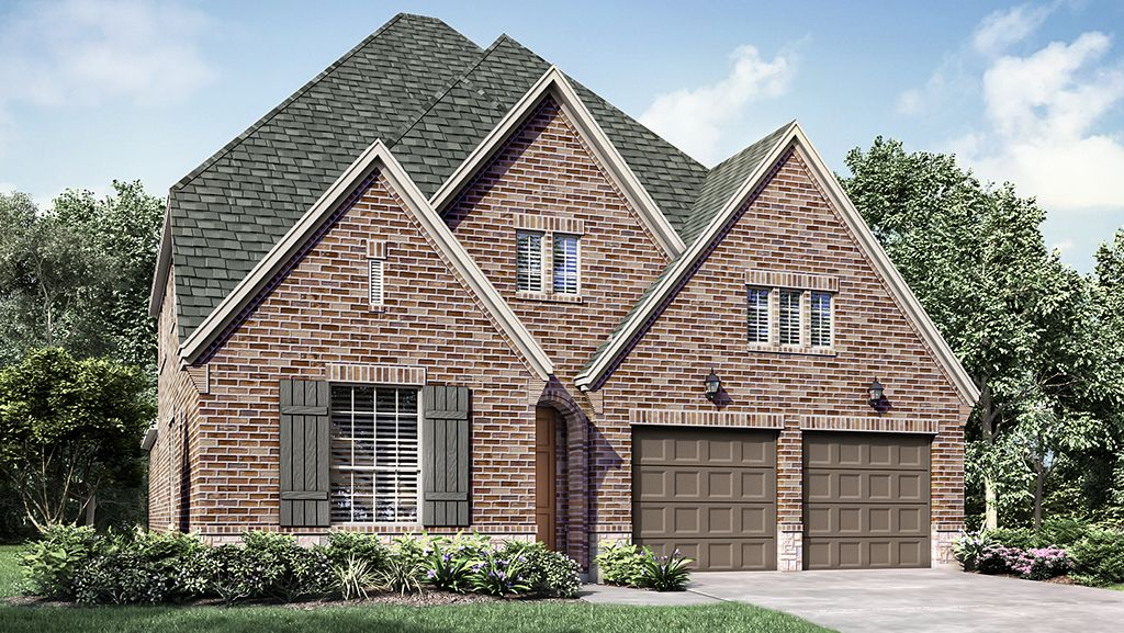 Single Family for Sale at 4055 Model Plan 337 Harmony Hill Road Grapevine, Texas 76051 United States