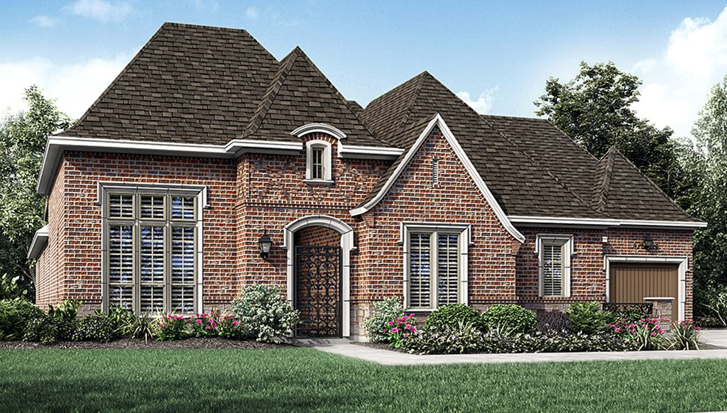 Darling homes newman village renaissance 7620 plan for New modern homes in frisco tx