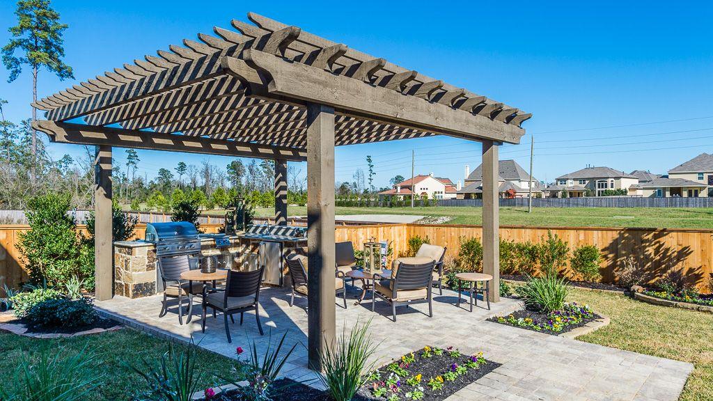 The Woodlands Creekside 75s Jaden Oaks New Homes In The