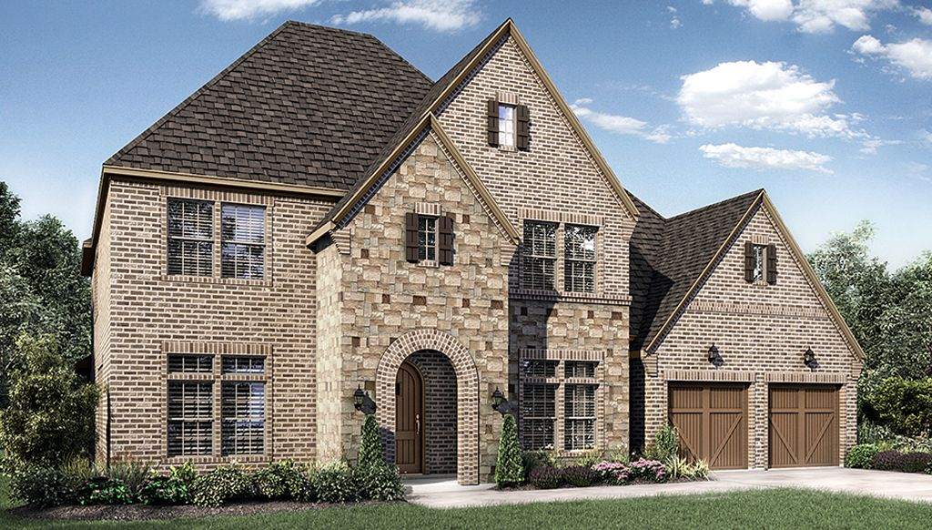 Single Family for Sale at Hunters Glen - 7445 Model Plan 1729 Milford Drive Flower Mound, Texas 75028 United States