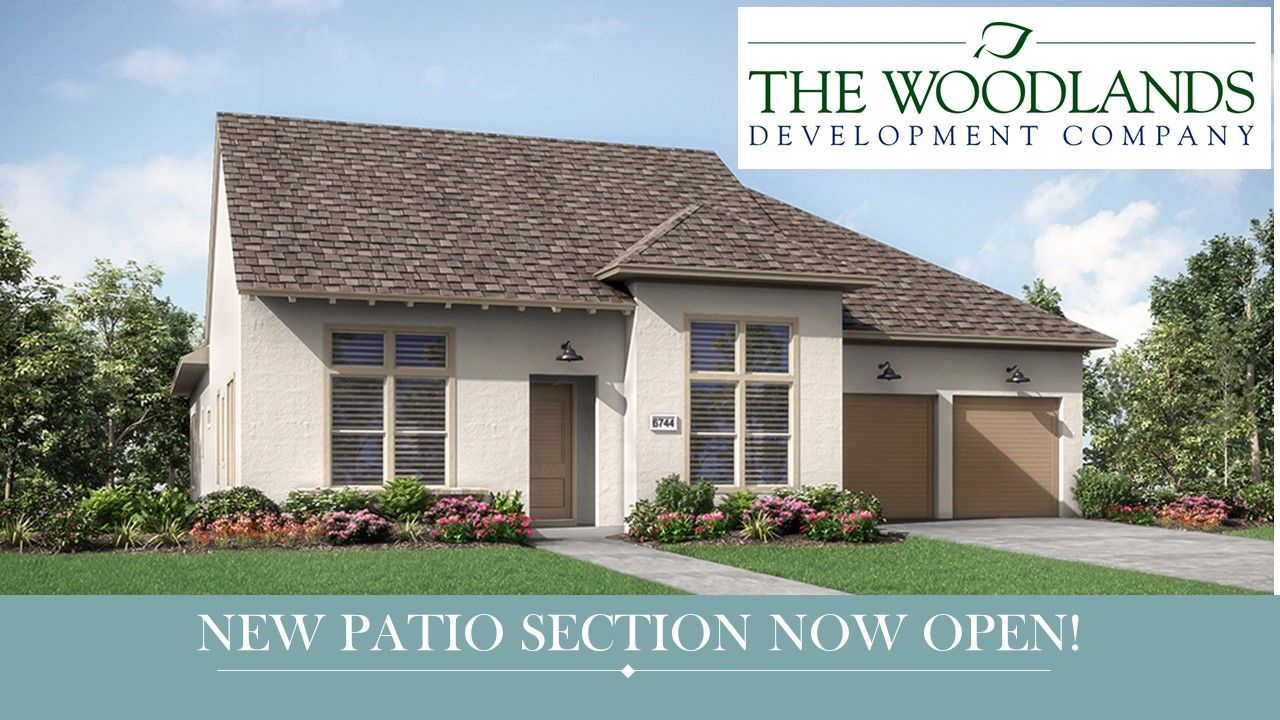 The Woodlands Creekside 65s Smooth Stream By Darling Homes