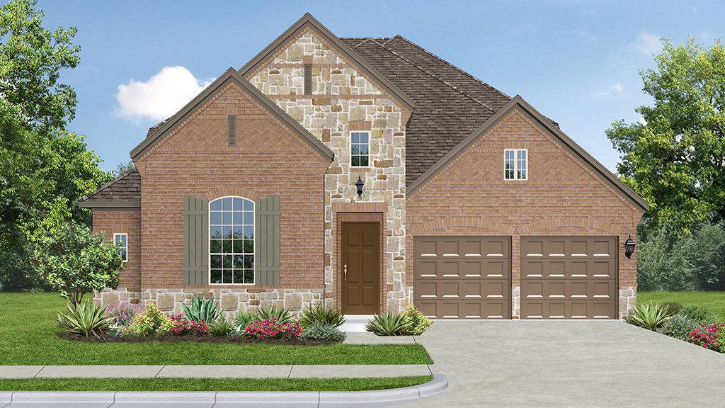 Single Family for Sale at 5260 Plan 1012 Riveria Road Roanoke, Texas 76262 United States