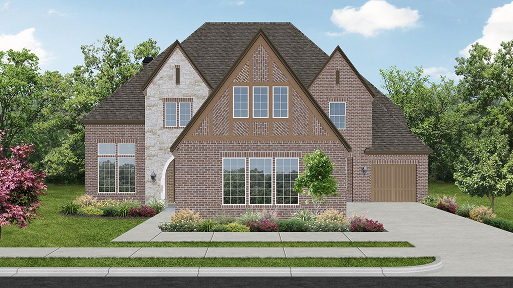 Single Family for Sale at Hunters Glen - 7490 Plan 1729 Milford Drive Flower Mound, Texas 75028 United States