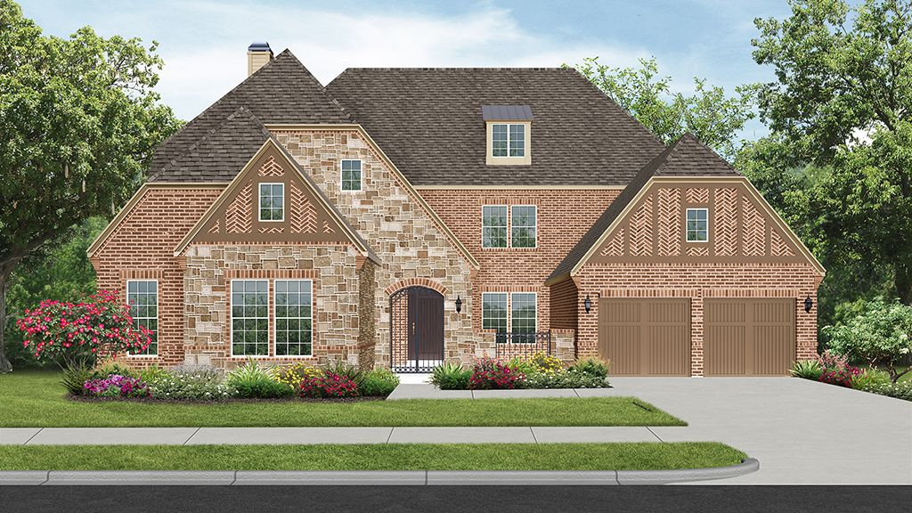 Single Family for Sale at Hunters Glen - 7255 Plan 1729 Milford Drive Flower Mound, Texas 75028 United States