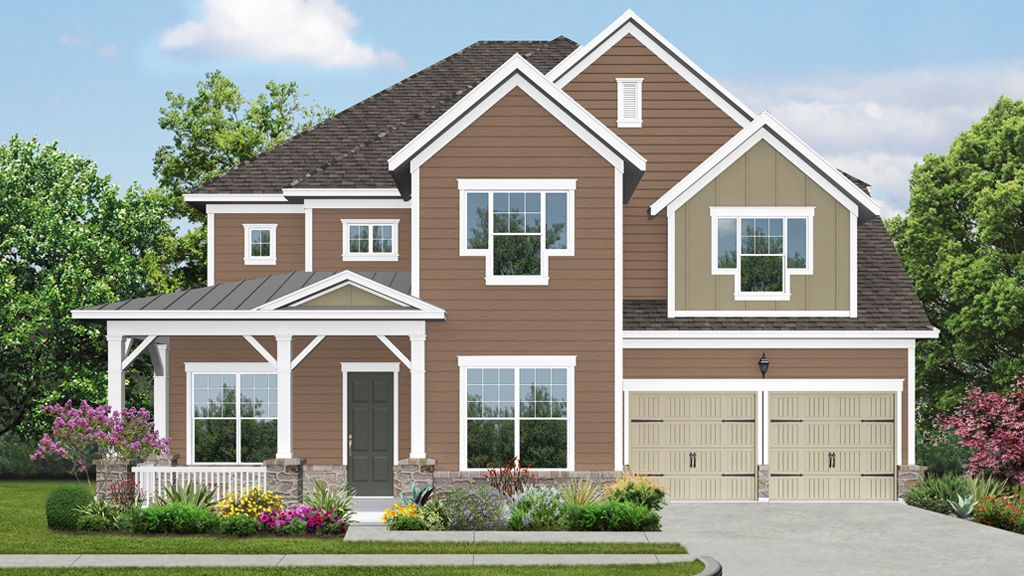 Darling homes woodforest woodforest american classic for Classic american homes for sale
