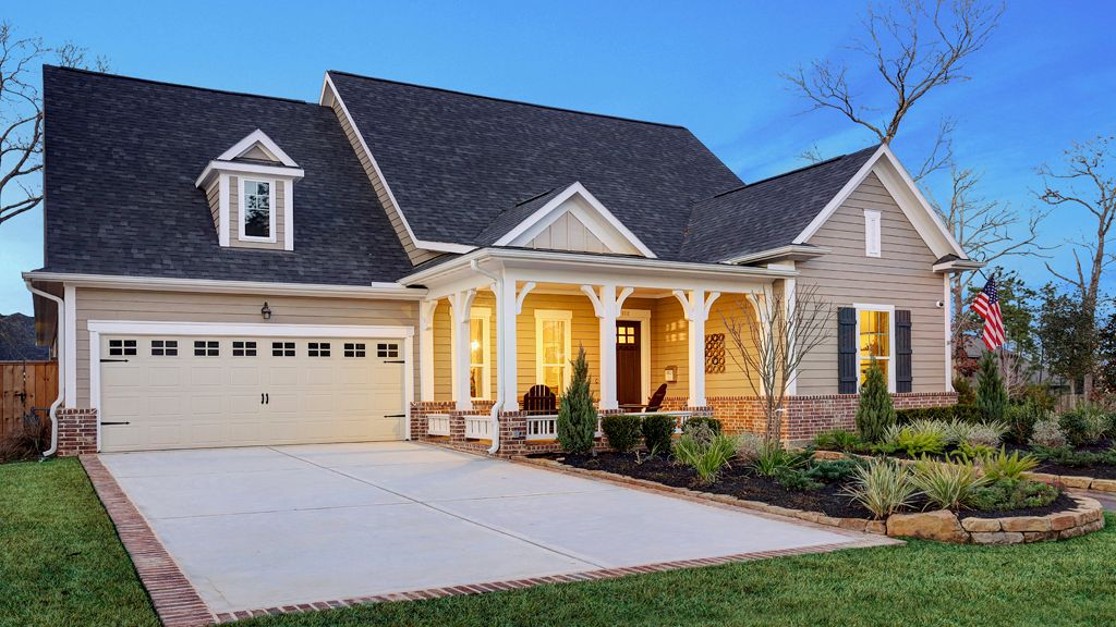Woodforest American Classic Series New Homes In Montgomery