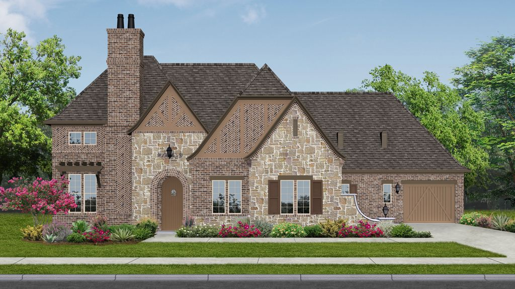 Darling homes newman village renaissance 8009 plan for New modern homes in frisco tx