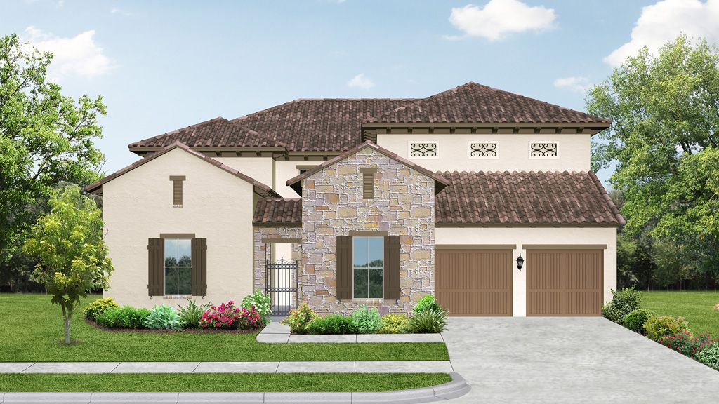 darling homes newman village classical 2232 plan 1217183