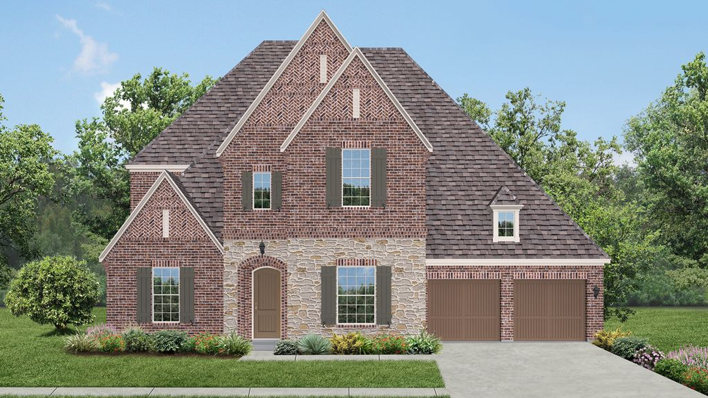 darling homes newman village classical 2237 plan 1217185