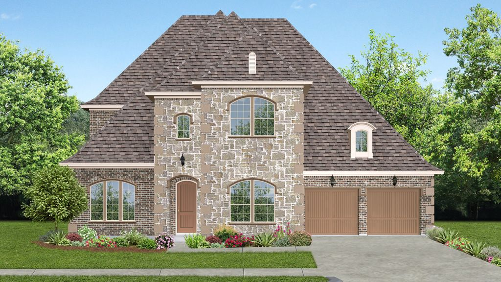 darling homes newman village classical 2235 plan 1217184