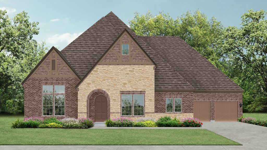 darling homes newman village renaissance 8009 plan