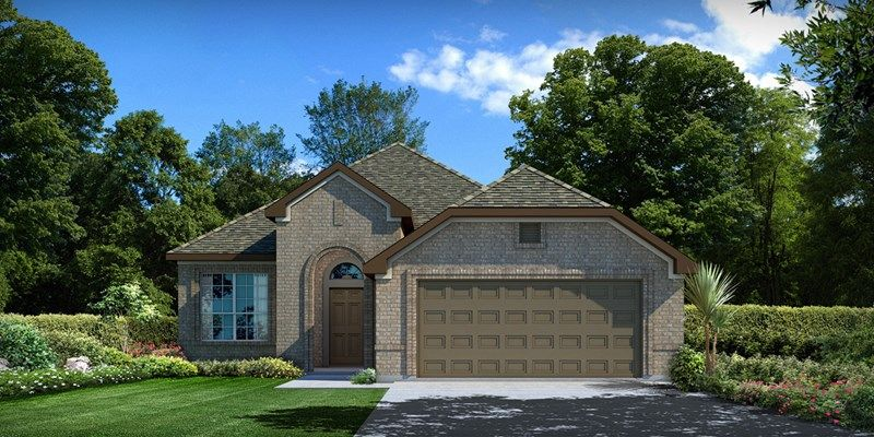 Single Family for Sale at Enclave At Castlebridge - Begonia 106 Saddle Drive Jersey Village, Texas 77065 United States