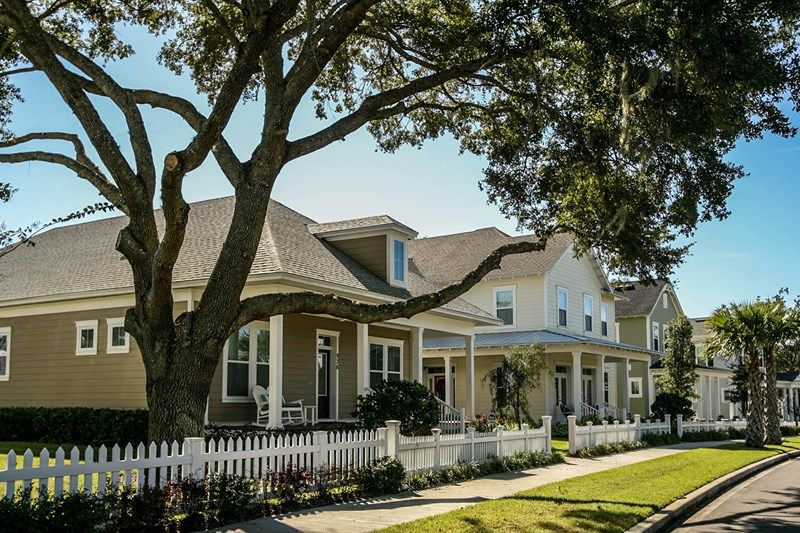 Oakland Park Cottage Homes New Homes In Winter Garden FL By David